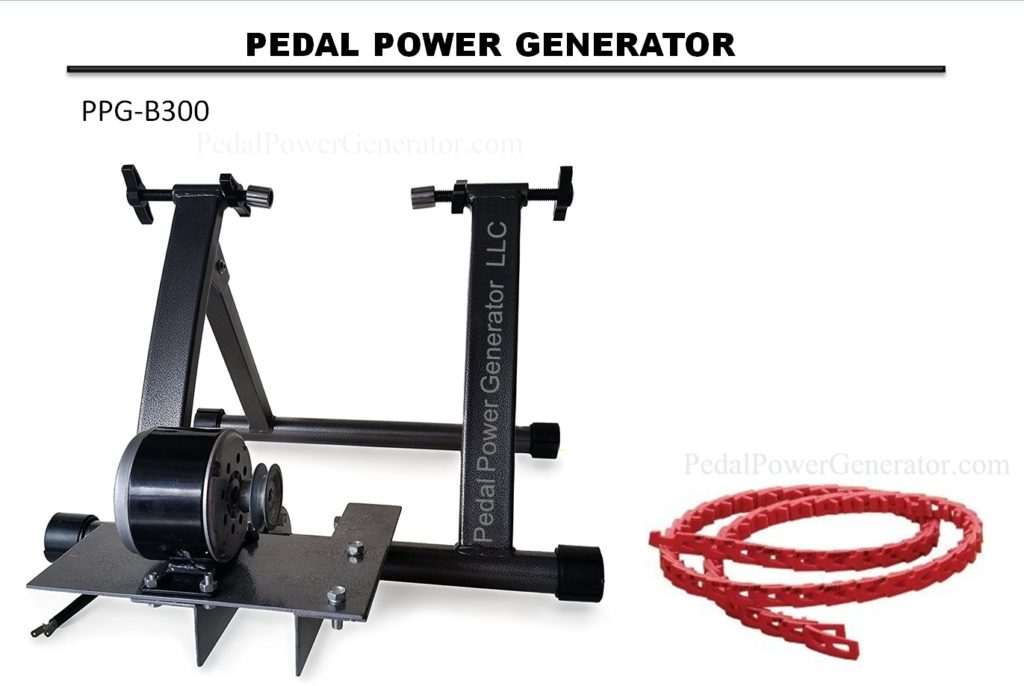 Belt Drive Generator Systems Pedal Power Generators