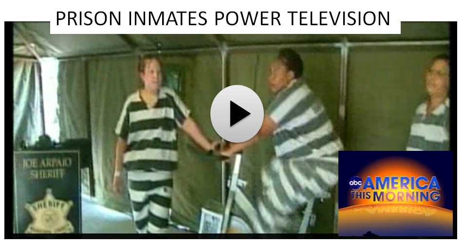ABC News reports on Prison Inmates generating electricity