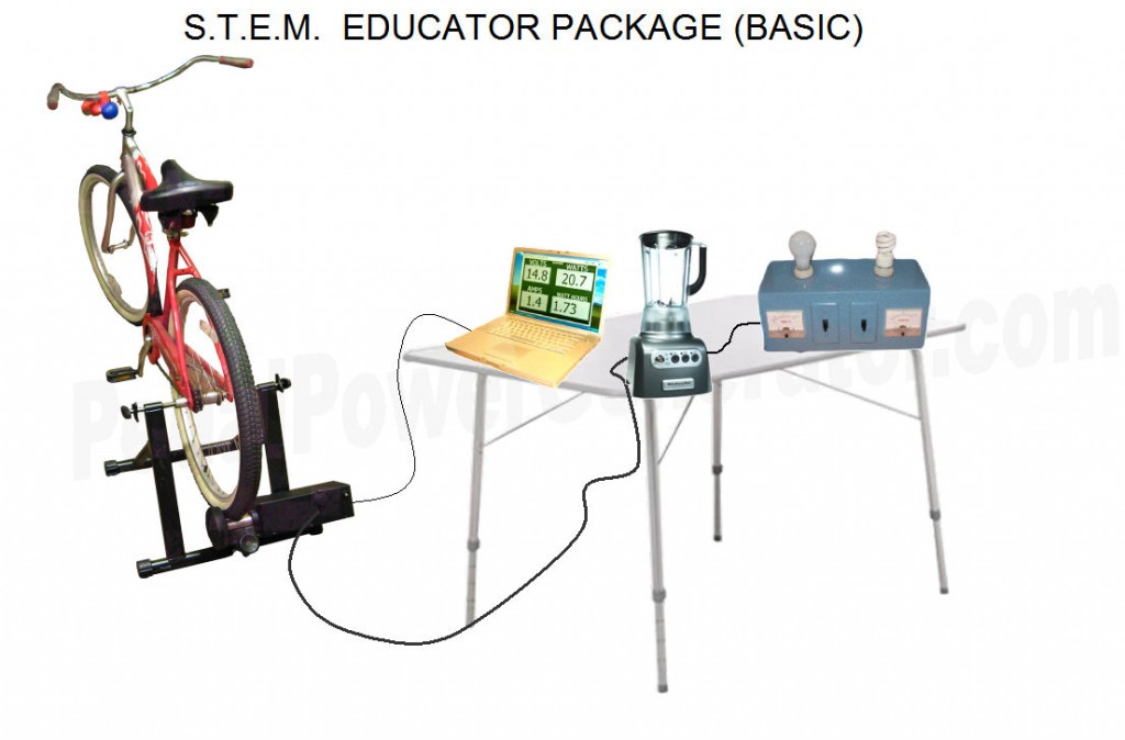 Bike Generator S.T.E.M. Educator Package