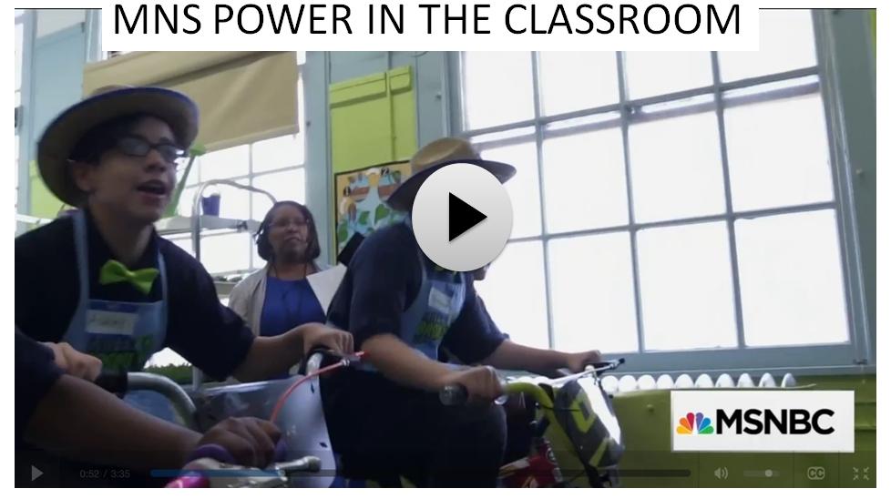 Bike Generators in the classroom