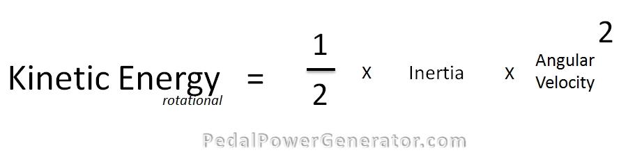 Rotational Kinetec Energy Formula