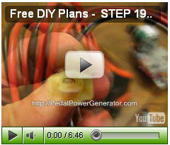 DIY Video 4b Pedal Power Generator