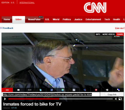 CNN: Inmates Forced to Bike for TV