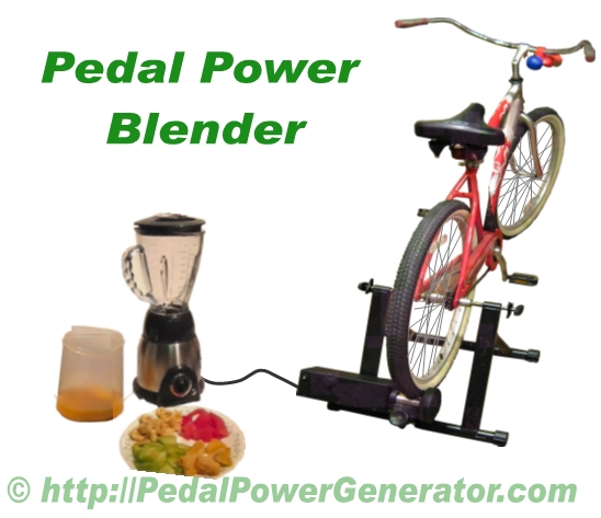 Pedal Power 12V Blender