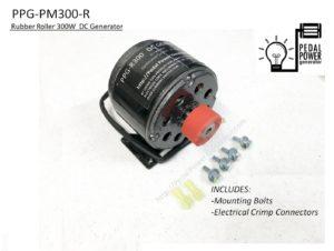 Rubber Roller Dynamo Generator