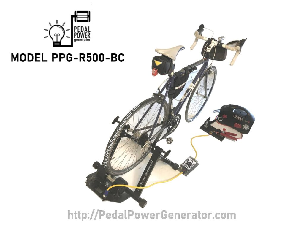 Pedal Power Generator Charging System 12V to 15V