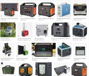 Solar generator power station