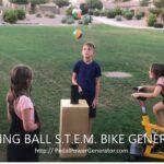Bernoulli effect educational curriculum science display